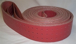 50-213691R Inkjet Base Transport Belt, Hi-Temp Red,  2