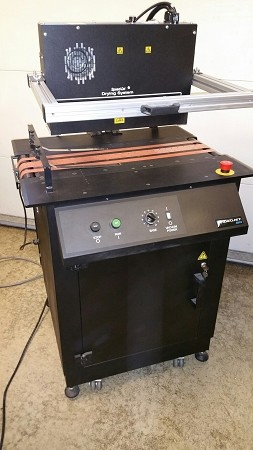 Videojet 4810 Vacuum Dryer Table with Cogent 5061 Dryer Has never been in production