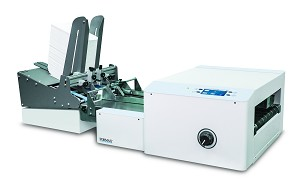 AP4F  Digital Printer with Heavy Duty Friction Feeder and Riser Stand