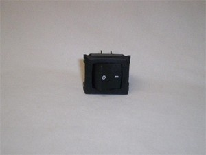 Switch, Rocker, DPST, 125-250V
